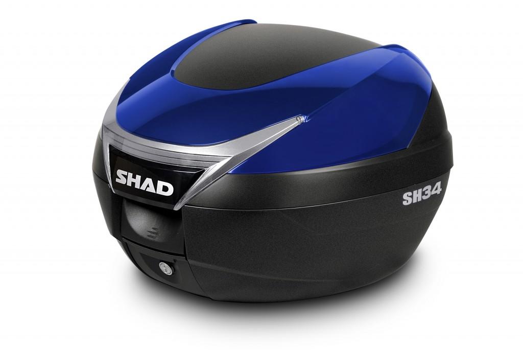 3d908e943a3da Topcase - s farebným krytom SH34 biela - Farebné kryty kufrov SHAD ...